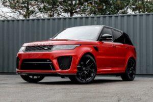 2021 Land Rover Range Rover Sport SVR  593748 | VORT3X auto